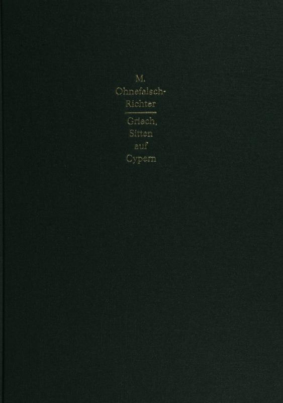 Griechische sitten und Gebrauche auf Cypern.pdf